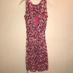 Diane Von Furstenburg pleated dress